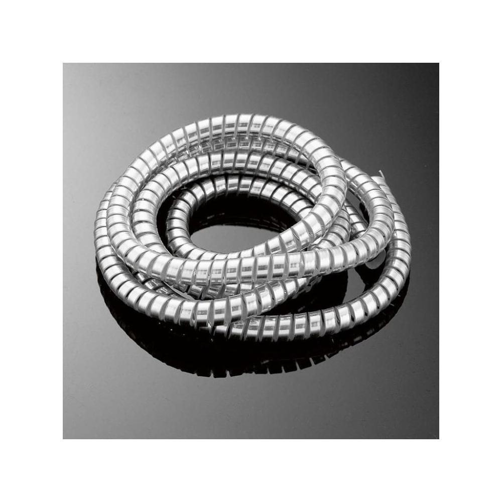 Chromovaný kryt kabelů Highway Hawk 10,2mm x 1,5m