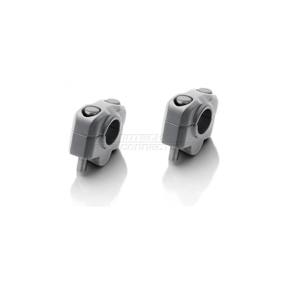 Sw-Mototech zvýšení řídítek +30mm hliníkové/černé
