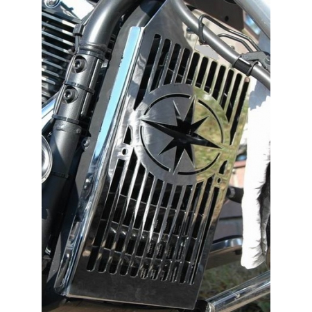 Yamaha XV 1300 Midnight Star kryt chladiče