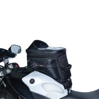 Tankbag na motocykl S20R Adventure s popruhy, OXFORD, černý,20L