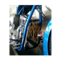 Kryt chladiče Honda VTX 1300 Fury