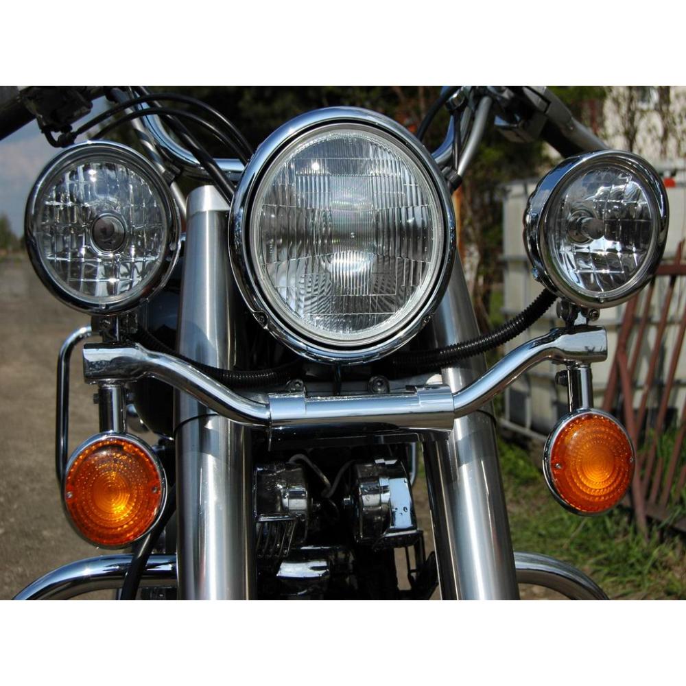 Yamaha XVS 650 Drag Star Classic rampa světel s blinkry