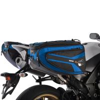 Boční brašny na motocykl OXFORD P50R černé/modré, 50L
