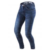 Dámské kevlarové jeansy na motorku Street Racer Daily