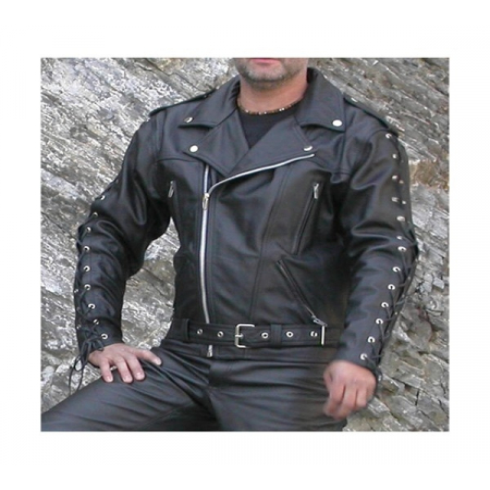 Kožená bunda BIKERS MODE F - J