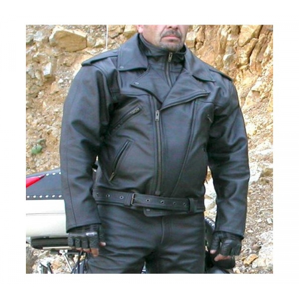 Kožená bunda BIKERS MODE F - K