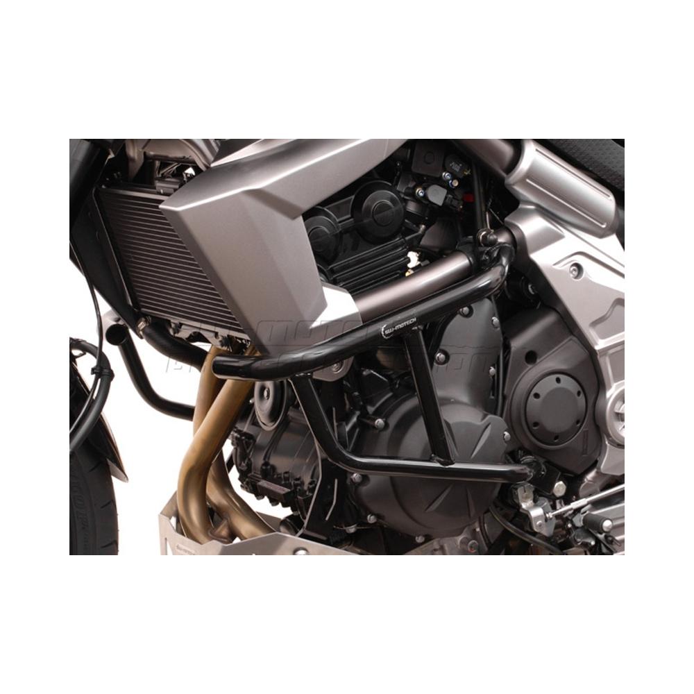 Kawasaki Versys 650 od 2007- padací rám SW-MOTECH-černý