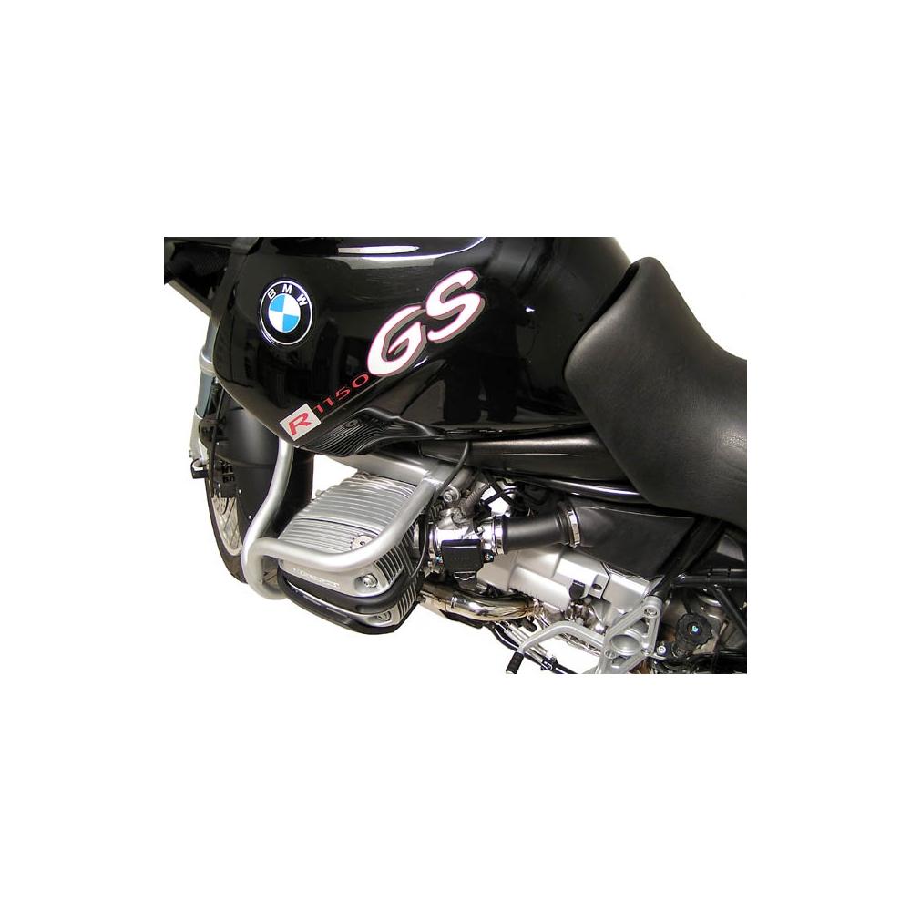 BMW R 1150 GS r.v. 1999-2004 padací rám SW-MOTECH-stříbrný