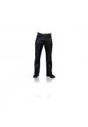 Kožené moto jeansy a chapsy