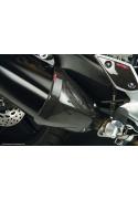 Karbonové kryty výfuku Yamaha